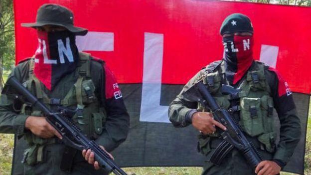 Guerrilleros del ELN (imagen de archivo)