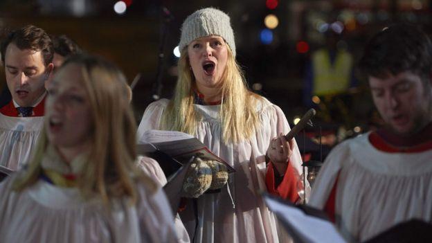 christmas music sing