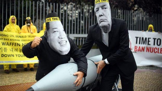 Ican 抗議示威
