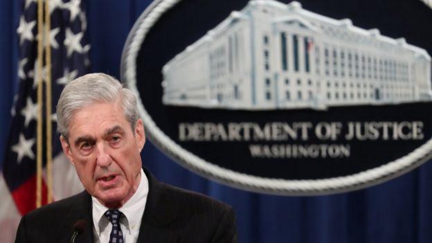 Eski FBI Başkanı Robert Mueller'in yürüttüğü soruşturmada Trump ile Rusya arasında bir bağ olduğuna dair kanıt bulamadı