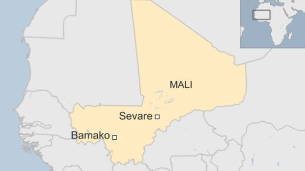 Mali hotel siege: Several killed in Sevare, four UN workers ... on aksum on map, nile river on map, senegal on map, songhai on map, mauritius on map, greece on map, timbuktu on map, tanzania on map, uganda on map, burundi on map, kilwa on map, niger river on map, ghana on map, eritrea on map, libyan desert on map, nauru on map, nigeria on map, iberian peninsula on world map, scotland on map, somalia on map,