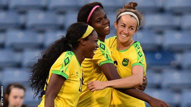 Women's World Cup: Khadija Shaw's story of tragedy, tenacity