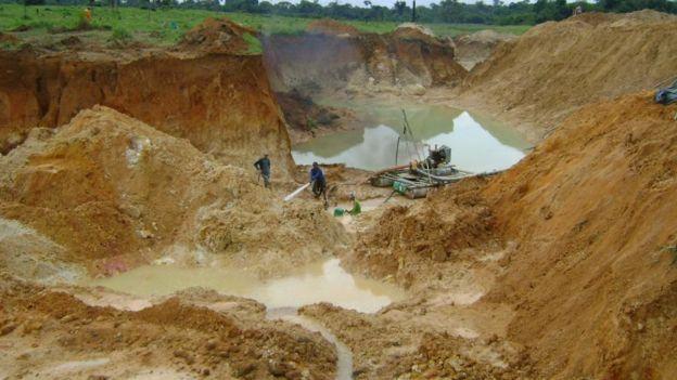 Garimpo em Mato Grosso