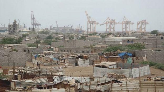 بندر حدیده در یمن