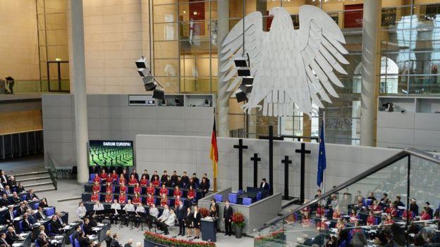 Немецкий бундестаг