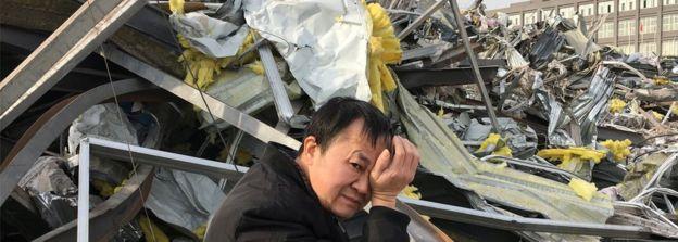 華湧紀錄了外來勞動人口被迫離開北京的過程。