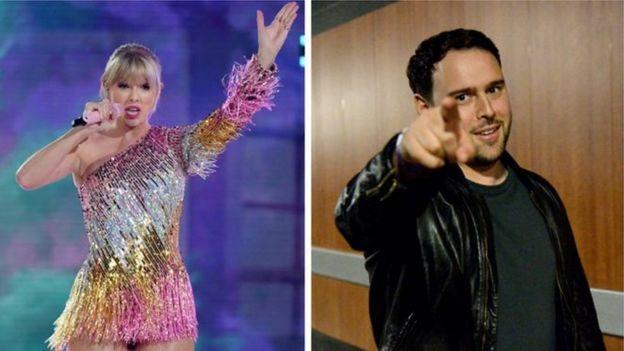 Taylor Swift y Scotter Braun