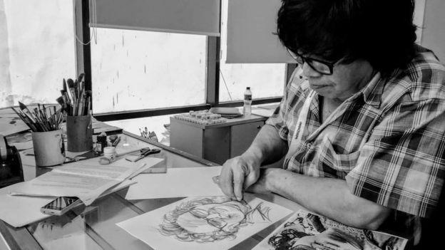 শিল্পী মাসুক হেলাল: তাঁর আকা ছবি নিয়ে কোন কোন তারকা ক্ষিপ্ত হয়েছিলেন