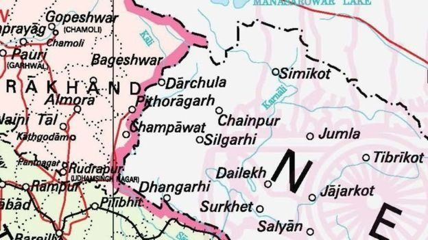 After India showed Kalapani area on its map, there has been protest in Nepal