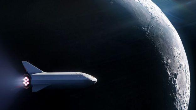 spacex ay yolculuğu