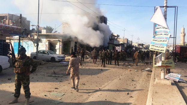 Ataque con coche bomba en Irak
