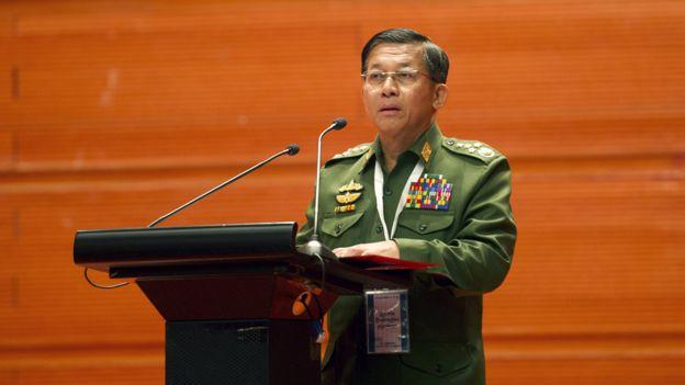 緬甸國防軍總司令敏昂萊