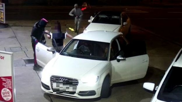 Carjacking on 4 February