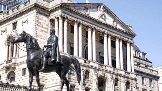 البنك البريطاني المركزي