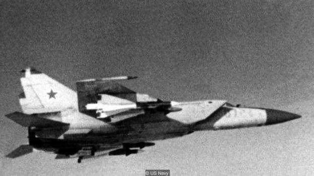 Ndege ya MiG-25