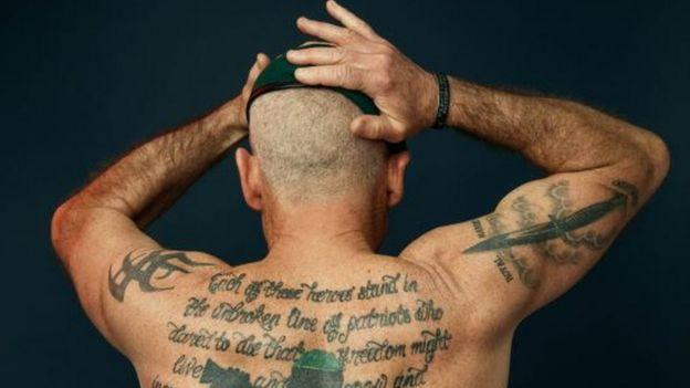 Military Tattoos Exhibition Reveals Living Memorials Bbc