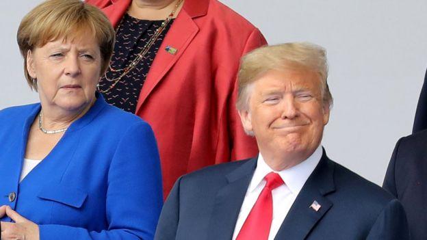 Merkel ve Trump