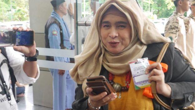 Neno Warisman, pendukung Prabowo-Sandiaga hadir dalam Ijtima 3.