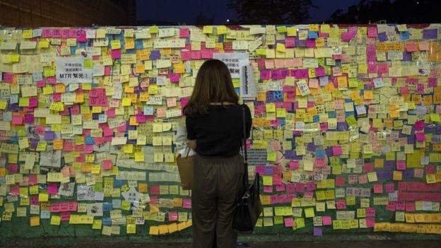 香港连侬墙
