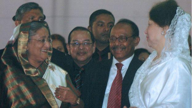 খালেদা জিয়া ও শেখ হাসিনা