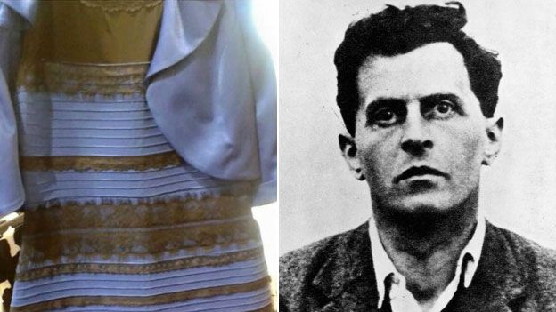 The dress and Ludwig Wittgenstein