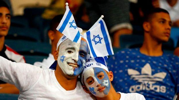 Israeli supporters