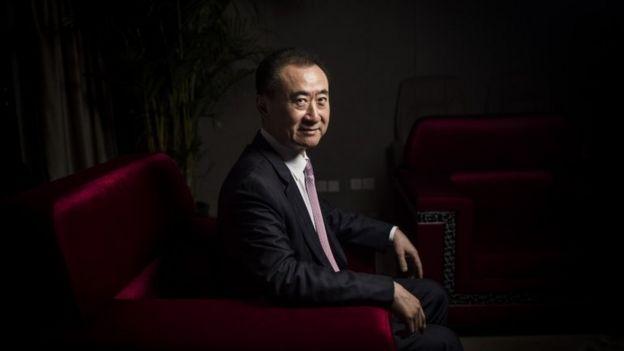Chairman of China's Wanda Group, Wang Jianlin