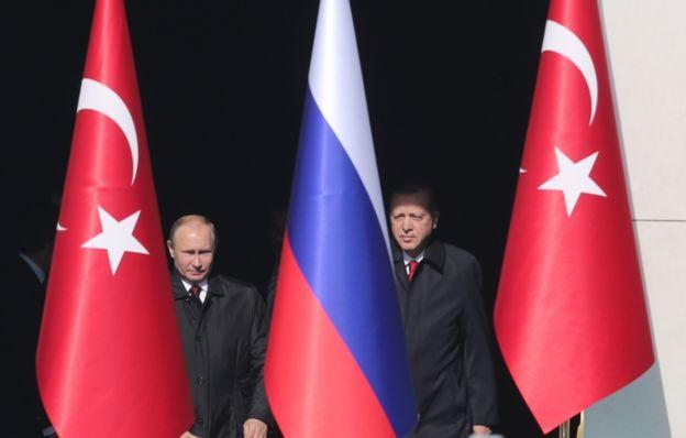Turquía se ha acercado a Rusia en los últimos meses.