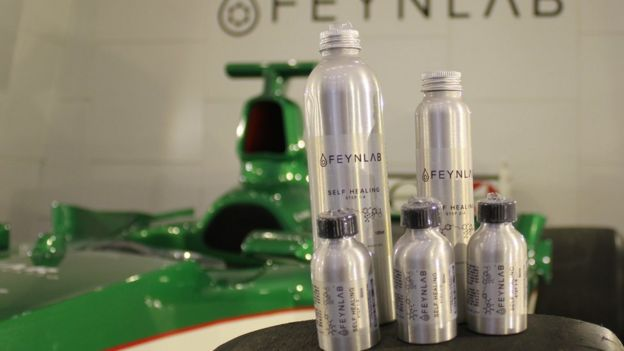 Feynlab self-healing coatings