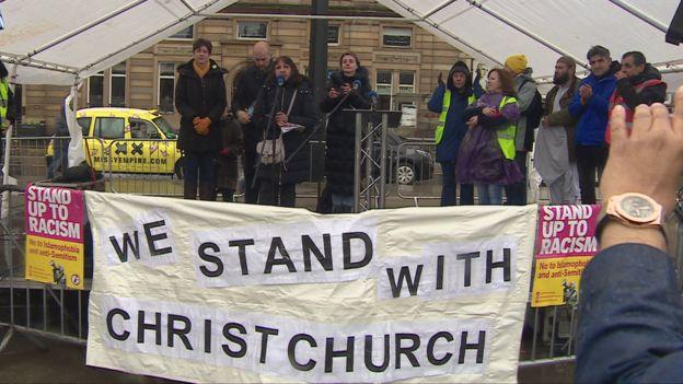 Anti-racism demo