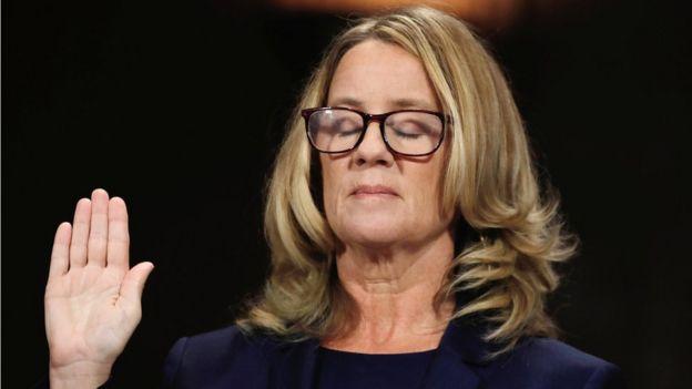 Christine Blasey Ford, mujer que acusa a Brett Kavanaugh de abuso sexual