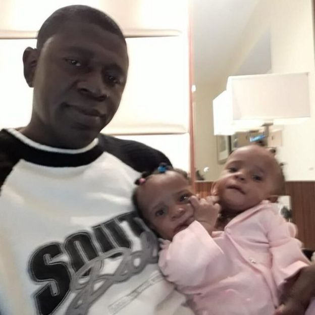 Ibrahima y sus niñas