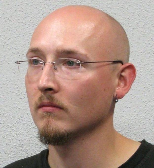 A polícia alemã divulgou esta imagem do suspeito, Yves Rausch (14 de julho de 2020)