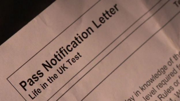 Pass notification letter