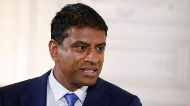 Vasant Narasimhan, executivo-chefe da Novartis