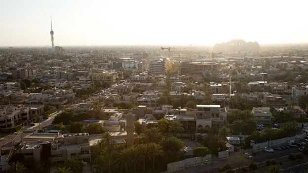 Panorámica de Bagdad.