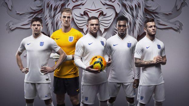 Equipo británico del Mundial de 2014.