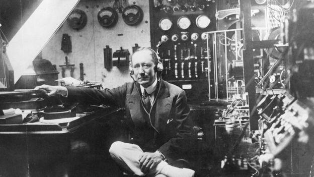 Guglielmo Marconi. el inventor de la radiotelegrafía.