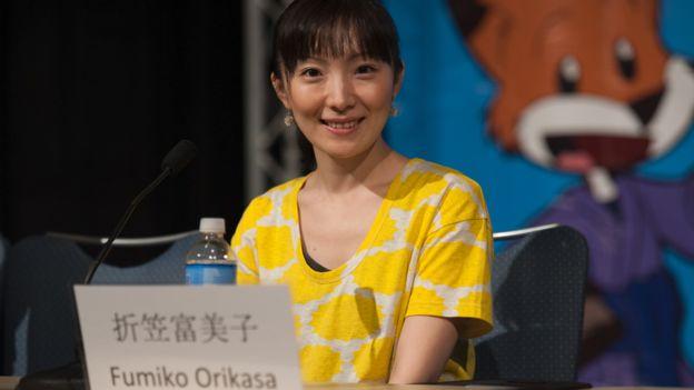 Japanese actress Fumiko Orikasa