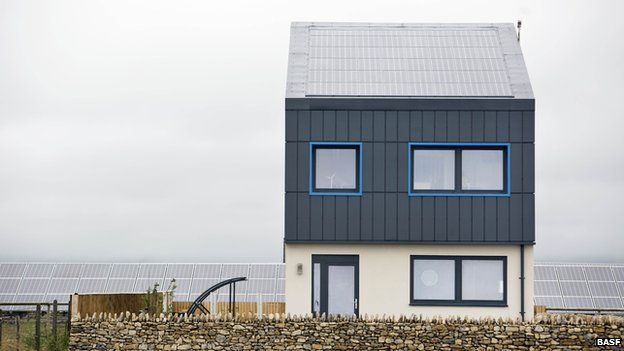 Designers create the impossible zero carbon house BBC News