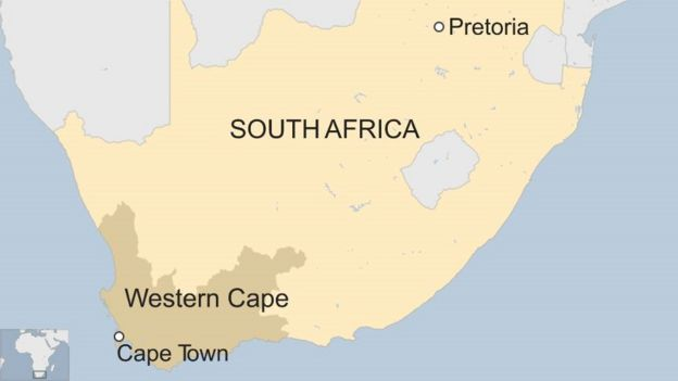 South Africa S Western Cape Declares Drought Disaster Bbc News