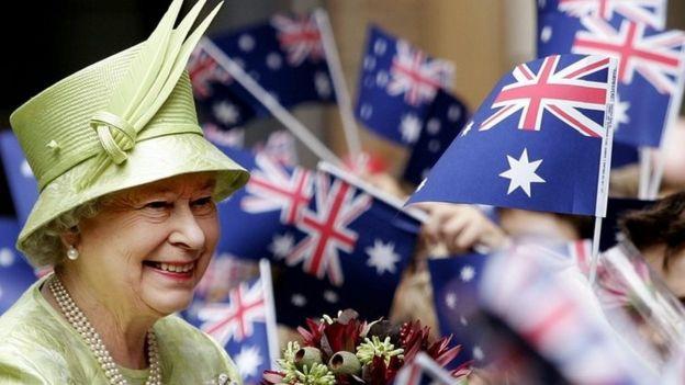 The Queen in Australia 2006