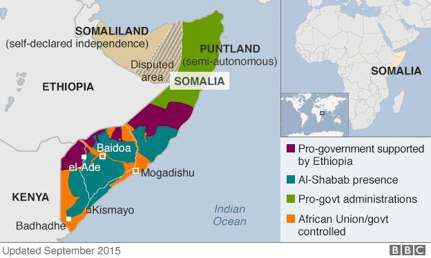 US air strike 'kills 150 Somali militants'   BBC News