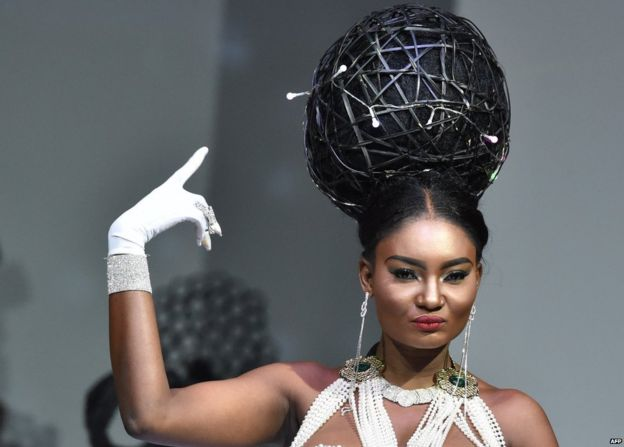 In pictures: Africa's high coiffure - BBC News