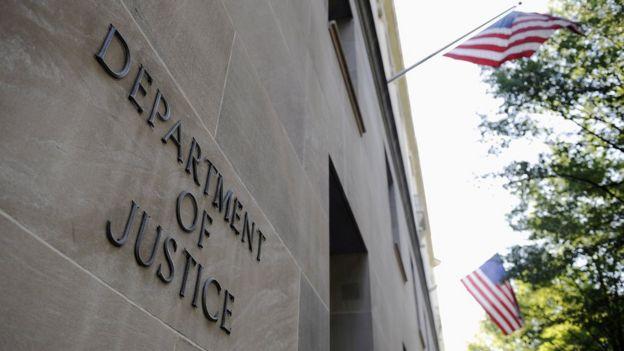 Prédio do Departamento de Justiça dos Estados Unidos
