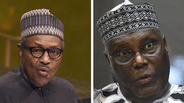 Muhammadu Buhari and Atiku Abubakar