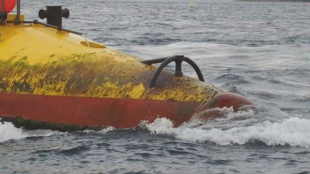 SR2000 tidal turbine