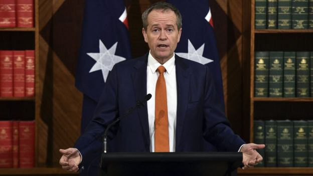 Bill Shorten concedes at news conference - 10 July