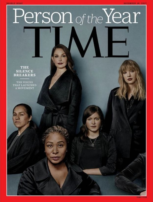 Time magazine cover honouring