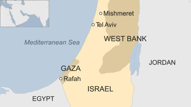 Seven injured as Gaza rocket hits home in central Israel ... on jerusalem to gaza map, israel west bank map, west bank and gaza map, 2014 israel map, gaza strip map, israel gaza strip,